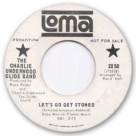 Loma records. Label scans of rare Loma 45 rpm vinyl records.   Loma 2050: Charlie Underwood Glide Band - Let's go get stoned