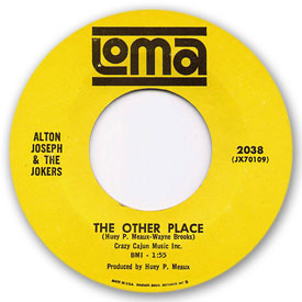 Loma records. Label scans of rare Loma 45 rpm vinyl records. Loma 2038: Alton Joseph & The Jokers - The other place