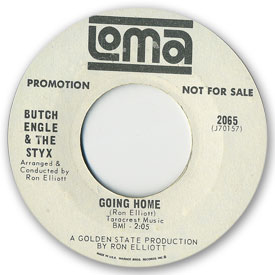 Loma records. Label scans of rare Loma 45 rpm vinyl records. Loma 2065: Butch Engle & The Styx - I like her