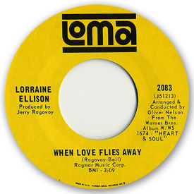 Loma records. Label scans of rare Loma 45 rpm vinyl records. Loma 2083: Lorraine Ellison - When love flies away